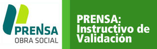 Prensa: Instructivo de validacion