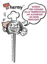 Termómetro de cocina